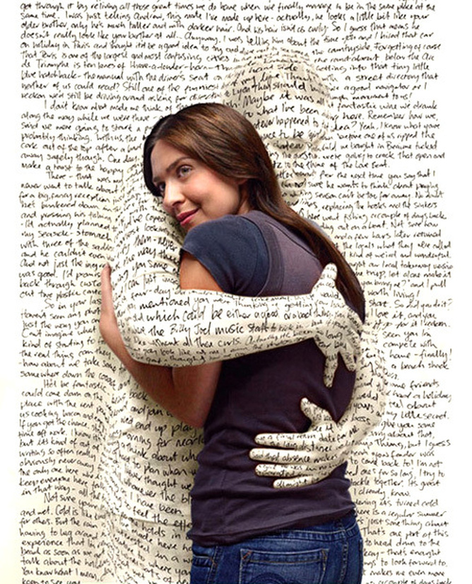 Newspaper Hug